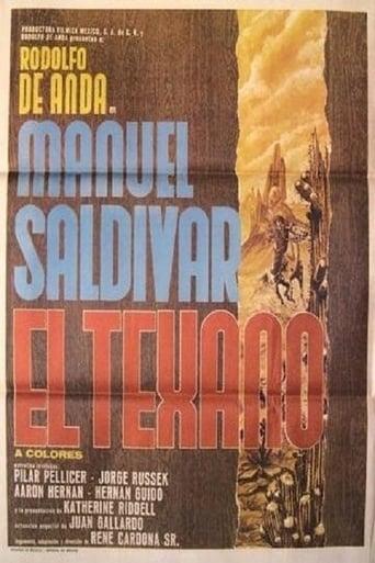 Poster of Manuel Saldivar, el texano