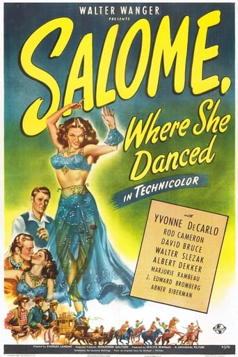 Poster of Salome, Where She Danced