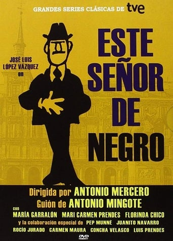 Poster of Este señor de negro
