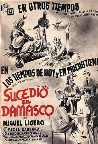 Poster of Sucedió en Damasco