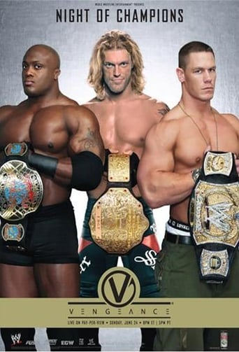 Poster of WWE Vengeance: Night of Champions 2007