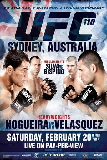 Poster of UFC 110: Nogueira vs. Velasquez