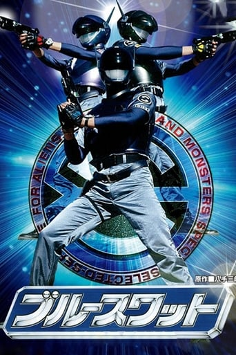 Poster of Blue SWAT