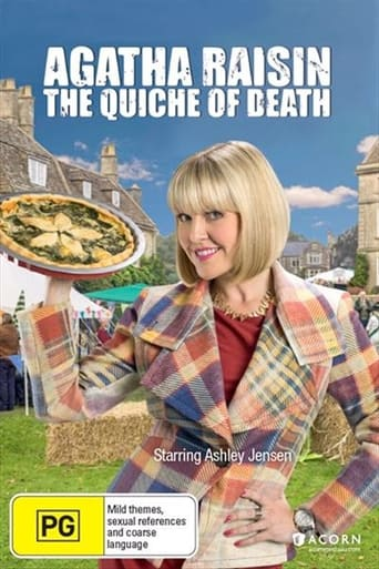 Poster of Agatha Raisin and the Quiche of Death