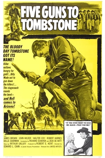 Poster of Five Guns to Tombstone