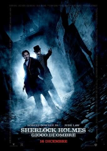 Poster of Sherlock Holmes - Gioco di ombre