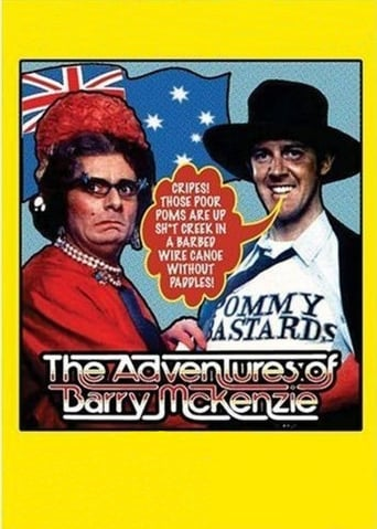 Poster of The Adventures of Barry McKenzie