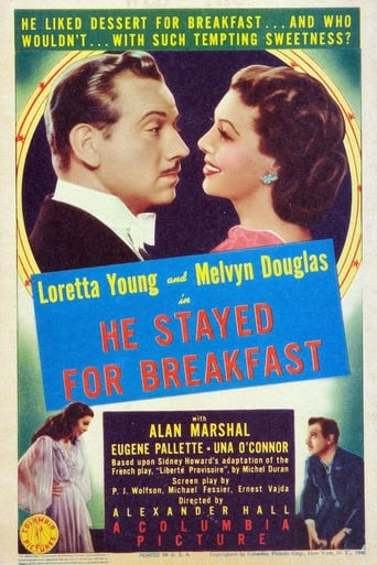 Poster of He Stayed for Breakfast
