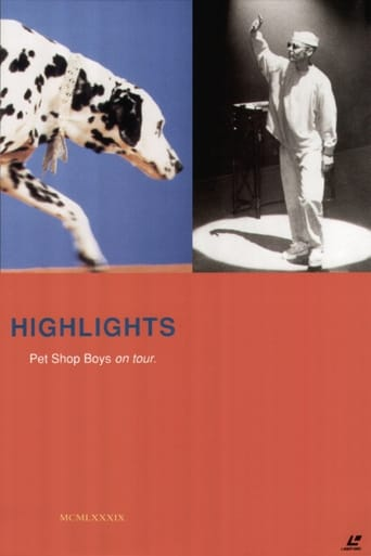 Poster of Pet Shop Boys - Highlights On Tour
