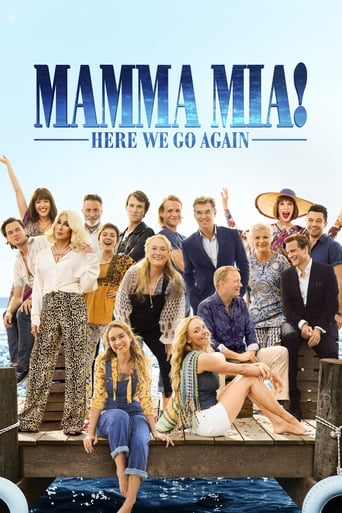 Poster of Mamma Mia! Here We Go Again