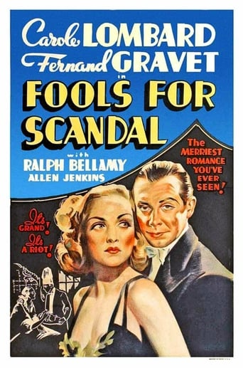 Poster of Fools for Scandal