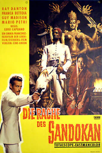 Poster of Sandokan Fights Back
