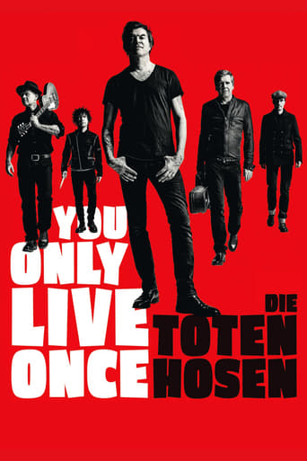 Poster of You Only Live Once: Die Toten Hosen on Tour