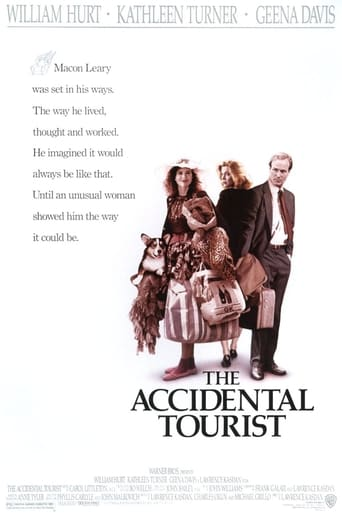 How old was William Hurt in The Accidental Tourist