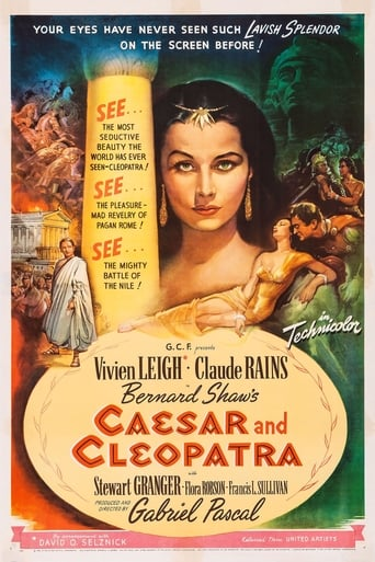 Poster of Caesar and Cleopatra