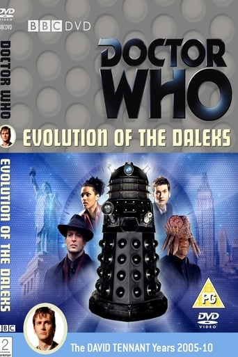 Poster of Doctor Who: Evolution of the Daleks