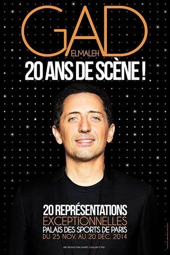 Poster of Gad Elmaleh - 20 ans de scène !
