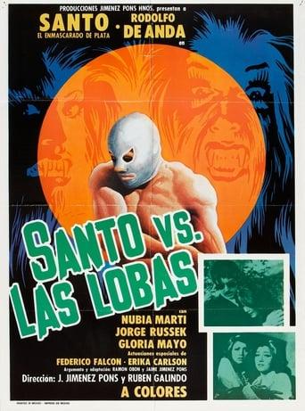 Poster of Santo vs. the She-Wolves