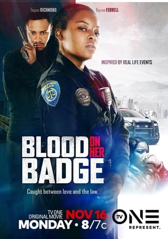 Poster of Blood on Her Badge