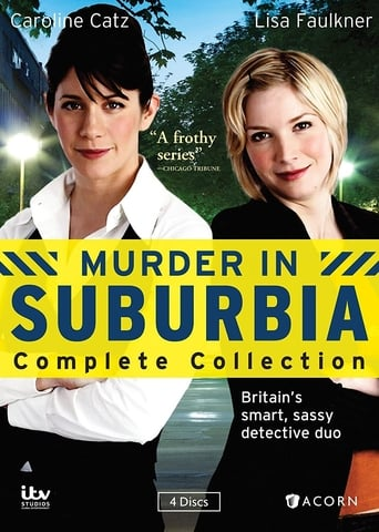Poster of Murder in Suburbia