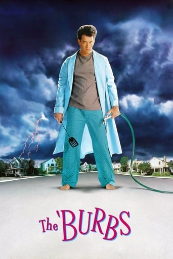 Poster of The 'Burbs