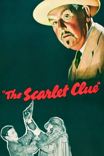 Poster of The Scarlet Clue