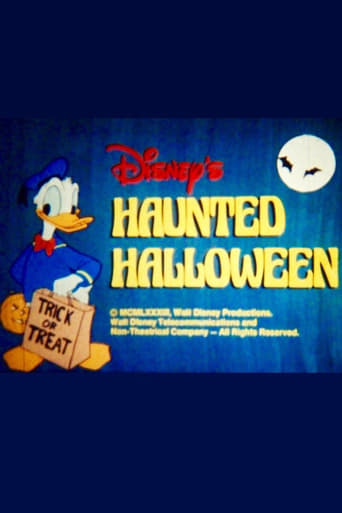 Poster of Disney's Haunted Halloween