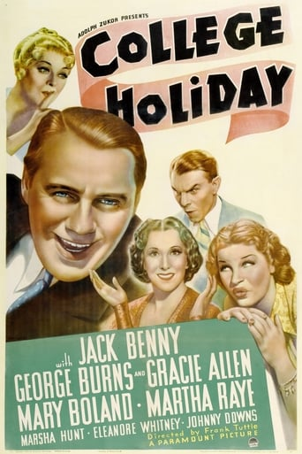 Poster of College Holiday