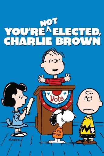 Poster of You're Not Elected, Charlie Brown