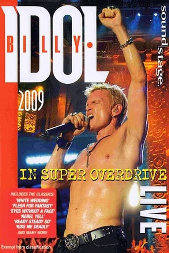 Poster of Billy Idol: Live in Super Overdrive