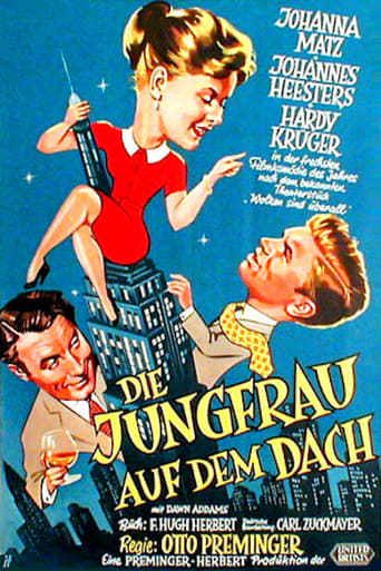 Poster of The Girl on The Roof