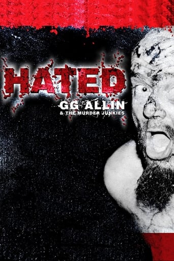 Poster of Hated: GG Allin & The Murder Junkies