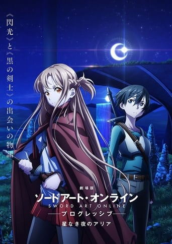 Poster of Sword Art Online the Movie: Progressive - Aria of a Starless Night