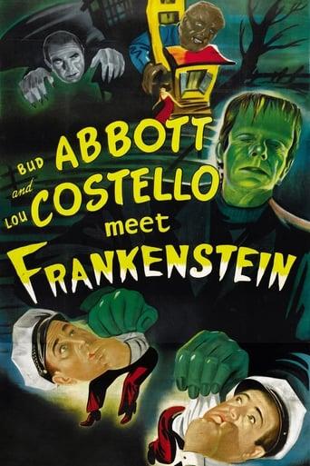 Poster of Abbott and Costello Meet Frankenstein