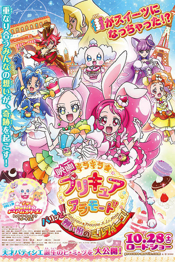 Poster of KiraKira☆PreCure à la Mode the Movie: Crisply! The Memory of Mille-feuille!