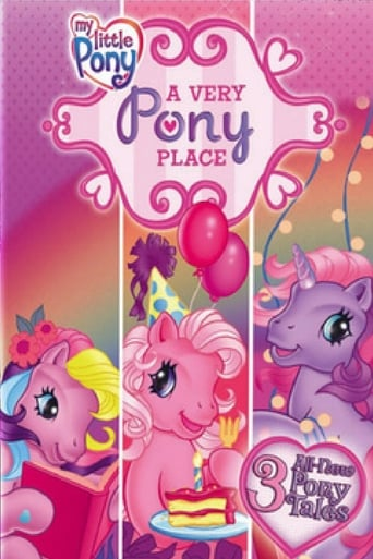 Poster of My Little Pony: A Very Pony Place