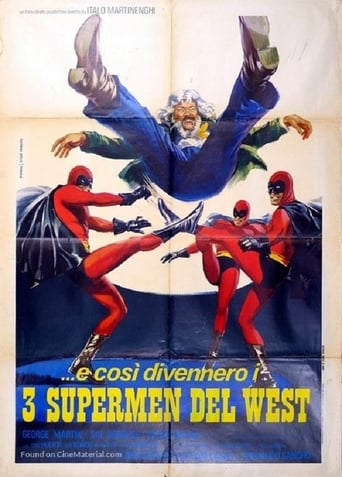 Poster of Three Supermen of the West