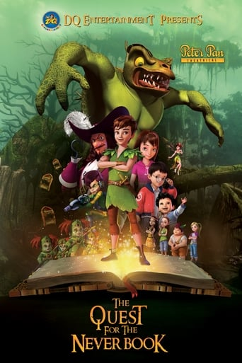 Poster of Peter Pan: The Quest for the Never Book