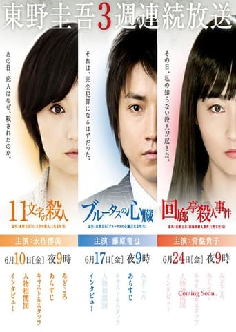 Poster of 東野圭吾3週連続スペシャル