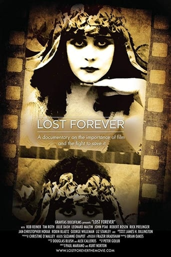 Poster of Lost Forever: The Art of Film Preservation