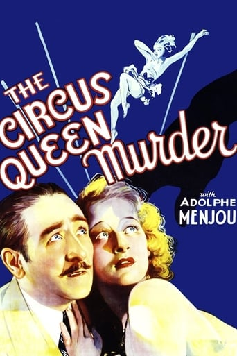 Poster of The Circus Queen Murder