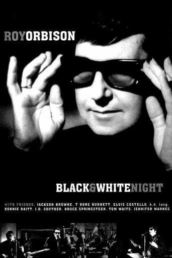 Poster of Roy Orbison and Friends: A Black and White Night