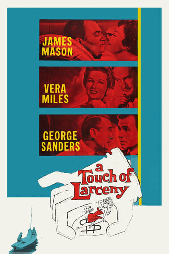 Poster of A Touch of Larceny