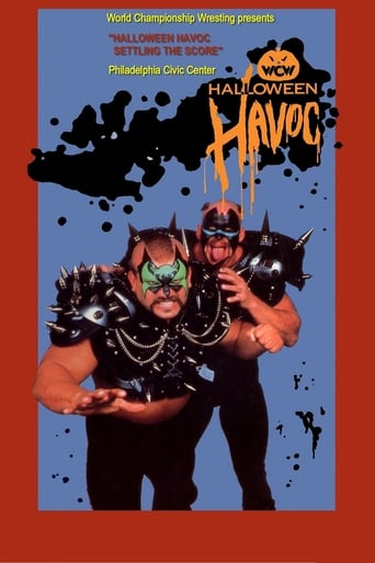 Poster of NWA Halloween Havoc 1989
