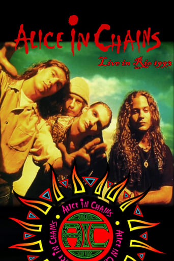 Alice in Chains: Hollywood Rock Festival 1993