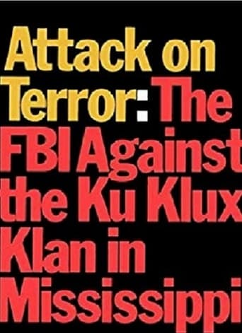 Poster of Attack on Terror: The FBI vs. the Ku Klux Klan