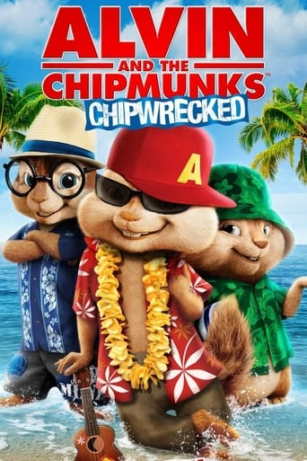 Poster of Alvin and the Chipmunks: Chipwrecked