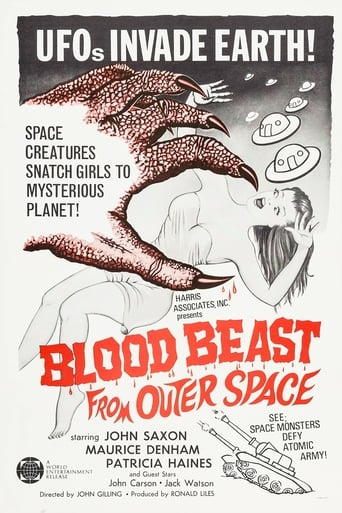 Poster of Blood Beast From Outer Space