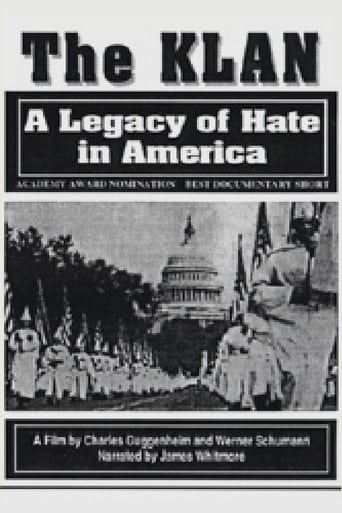 Poster of The Klan: A Legacy of Hate in America