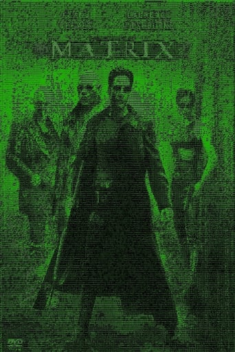 The Matrix: ASCII poster